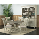 Kincaid Weatherford Milford Round Dining Table Set in Cornsilk Finish