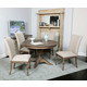 Kincaid Weatherford Milford Round Dining Table Set in Heather Finish