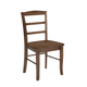 John Thomas Furniture Dining Essentials Madrid Side Chair (Set of 2) in Oak C04-2