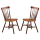 John Thomas Furniture Dining Essentials Copenhagen Side Chair (Set of 2) in Espresso C581-285