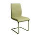 Pastel Furniture Quanto Basta Side Chair in Stainless Steel (Set of 2) QB-110-SS-SN-025