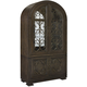 American Drew Casalone Bunching China Cabinet in Dark Walnut