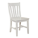 John Thomas Furniture Simply Linen Schoolhouse Dining Chair in Linen (set of 2)  C31-61