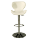 Pastel Furniture Cagliari Hydraulic Barstool in Chrome (Set of 2) CG-219-CH-978
