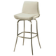 Pastel Furniture Degorah Swivel Barstool in Stainless Steel (Set of 2) DG-219-26-SS-978
