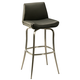 Pastel Furniture Degorah Swivel Barstool in Stainless Steel (Set of 2) DG-219-30-SS-979