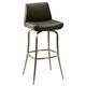 Pastel Furniture Degorah Swivel Barstool in Stainless Steel (Set of 2) DG-219-26-SS-979