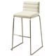 Pastel Furniture Dominica Barstool in Stainless Steel (Set of 2) DM-210-30-SS-WH-978