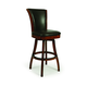 Pastel Furniture Glenwood Swivel Barstool in Russet Cordovan (Set of 2) GL-219-30-RD-867