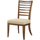American Drew Grove Point Ladder Back Side Chair in Warm Khaki (Set of 2) 314-636