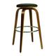 Pastel Furniture Yohkoh Swivel Barstool in Chrome and Walnut Veneer (Set of 2) YH-215-26-CH-WA-979