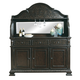 Samuel Lawrence Monarch Server with Deck in Smoke Walnut 8794-142-7