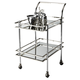 Butler Specialty Butler Loft Bar Cart in Nickel 3139220