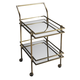 Butler Specialty Butler Loft Bar Cart in Antique Brass 3139226