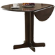 Acme Furniture Copenhagen Drop Leaf Dining Table in Espresso 02980