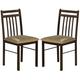 Acme Furniture Copenhagen Side Chair (Set of 2) in Espresso 02981