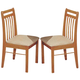 Acme Furniture Copenhagen Side Chair (Set of 2) in Oak 02976