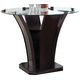 Acme Furniture Malik Round Counter Height Table in Espresso 70510