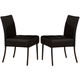 Acme Furniture Parrish Side Chair (Set of 2) in Black 71012