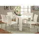 Acme Furniture Lilah 9 Piece Rectangular Dining Set in White