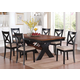 Acme Furniture Sonya 7 Piece Round Dining Set in Chrome