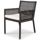 Source Outdoor Matterhorn Dining Chair (Set of 2) in Espresso SO-313-06
