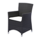 Source Outdoor St. Tropez Dining Chair (Set of 2) in Espresso SO-045-06