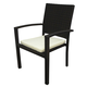Source Outdoor Zen Dining Chair (Set of 2) in Espresso SO-069-06