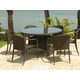 Source Outdoor Circa Dining Set in Espresso