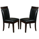 Acme Furniture Deisy Upholstered Side Chairs (Set of 2) in Espresso 70788