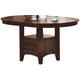 Acme Furniture Lugano Dining Table in Dark Walnut 07670