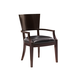 Lexington Furniture Kensington Place Carson Arm Chair in Oxford Brown (Set of 2) 708-881-01