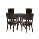 Lexington Furniture Kensington Place 5 Piece Beverly Glen Round Dining Set in Brentwood