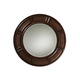 Tommy Bahama Kilimanjaro Helena Round Mirror in Chestnut Brown 552-201