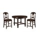 Hekman Canyon Retreat 5pc Gathering Height Dining Set in Canyon Retreat