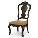 Legacy Classic La Bella Vita Splat Back Side Chair in Coffee House Brown (Set of 2) 4200-240 KD