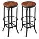 Butler Specialty Industrial Chic Bar Stool (Set of 2) 1167025