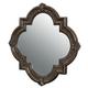 Legacy Classic La Bella Vita Decorative Accent Mirror in Coffee House Brown 4200-0800