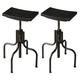 Butler Specialty Industrial Chic Revolving Bar Stool (Set of 2) 2051025