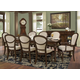 Hekman Charlestone Place 9pc Rectangular Dining Set in Charlestone Place