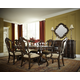 Legacy Classic La Bella Vita 7 Piece Double Pedestal Dining Set in Coffee House Brown