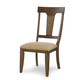 Legacy Classic River Run Splat Back Side Chair in Bourbon (Set of 2) 4740-140KD