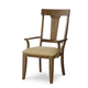 Legacy Classic River Run Splat Back Arm Chair in Bourbon (Set of 2) 4740-141KD