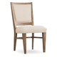 Hooker Furniture Studio 7H Stol Upholstered Side Chair in Walnut (Set of 2)