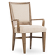 Hooker Furniture Studio 7H Stol Upholstered Arm Chair in Walnut (Set of 2)