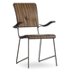Hooker Furniture Studio 7H Vibe Bentwood Arm Chair in Walnut (Set of 2)