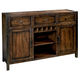 Hekman Harbor Springs Sideboard in Rustic Hardwood 942505RH