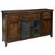 Hekman Harbor Springs Heirloom Sideboard in Rustic Hardwood 942506RH