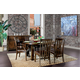 Hekman Harbor Springs 7 Piece Round Leg Dining Set in Rustic Hardwood