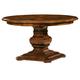 Hekman Rue de Bac Round Pedestal Dining Table in Cognac 8-7221